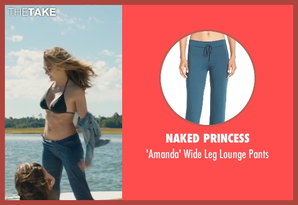 Naked Princess blue pants from The Choice seen with Teresa Palmer (Gabby Holland)