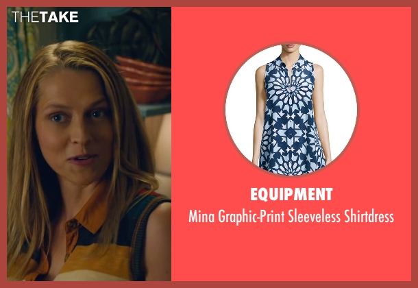 Equipment shirtdress from The Choice seen with Teresa Palmer (Gabby Holland)
