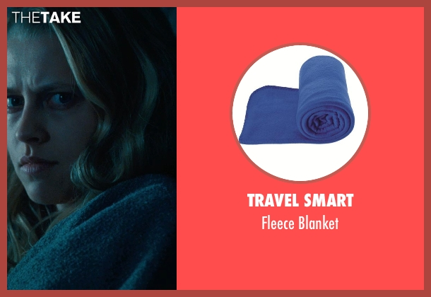 Travel Smart blanket from Warm Bodies seen with Teresa Palmer (Julie)