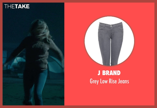 J Brand gray jeans from Warm Bodies seen with Teresa Palmer (Julie)