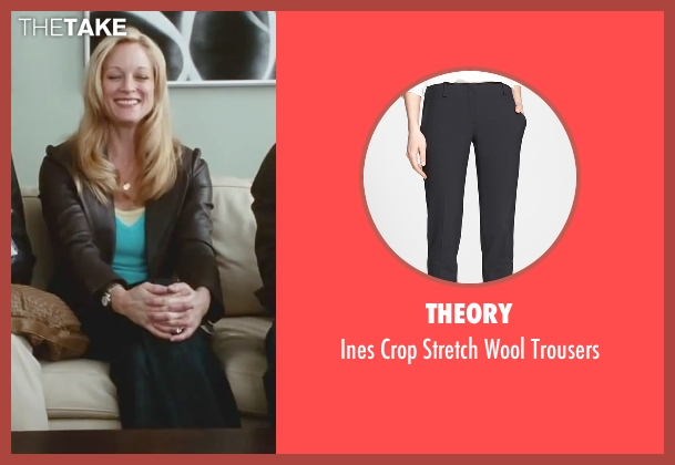Theory black trousers from Little Fockers seen with Teri Polo (Pam Focker)