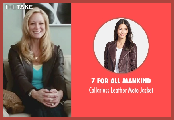 7 For All Mankind brown jacket from Little Fockers seen with Teri Polo (Pam Focker)