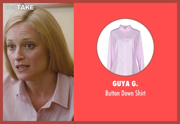 Guya G. pink shirt from Little Fockers seen with Teri Polo (Pam Focker)