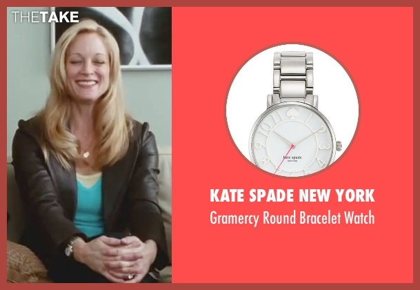 Kate Spade New York silver watch from Little Fockers seen with Teri Polo (Pam Focker)
