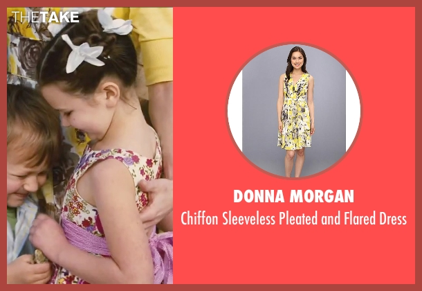 Donna Morgan yellow dress from Little Fockers seen with Teri Polo (Pam Focker)