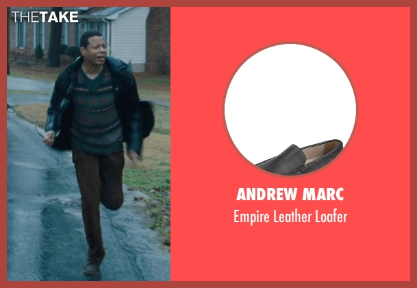 Andrew Marc black loafer from Prisoners seen with Terrence Howard  (Franklin Birch)