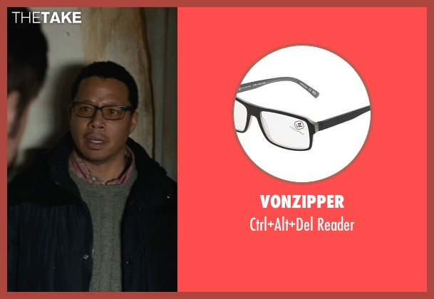 VonZipper black reader from Prisoners seen with Terrence Howard  (Franklin Birch)