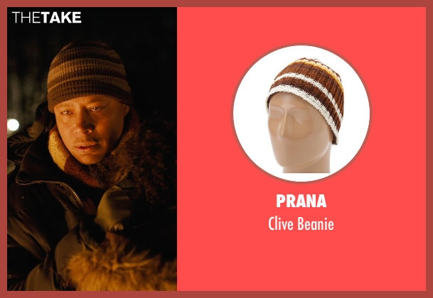 Prana brown beanie from Prisoners seen with Terrence Howard  (Franklin Birch)