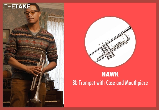 Hawk mouthpiece from Prisoners seen with Terrence Howard  (Franklin Birch)