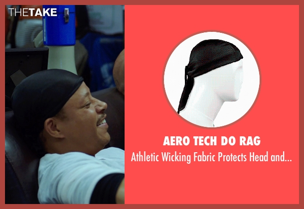 Aero Tech Do Rag black neck from Sabotage seen with Terrence Howard  (Julius 'Sugar' Edmonds)