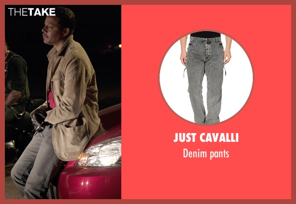 JUST CAVALLI black pants from Sabotage seen with Terrence Howard  (Julius 'Sugar' Edmonds)