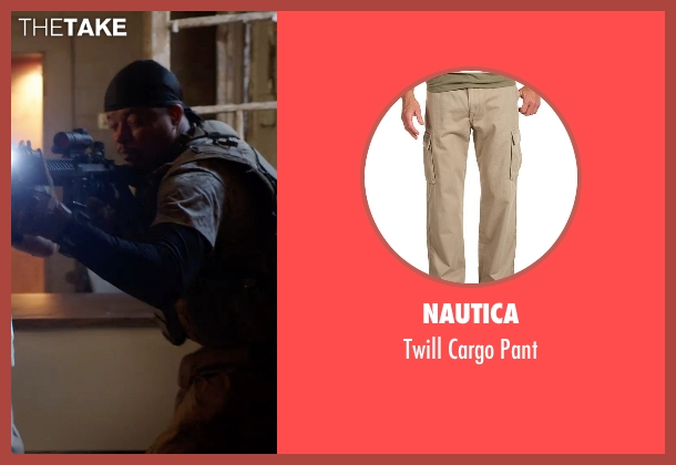 Nautica brown pant from Sabotage seen with Terrence Howard  (Julius 'Sugar' Edmonds)