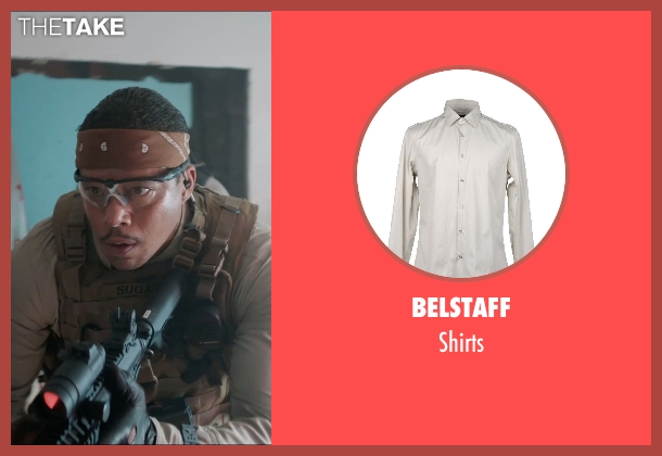 BELSTAFF brown shirts from Sabotage seen with Terrence Howard  (Julius 'Sugar' Edmonds)