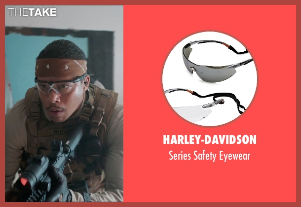 Harley-Davidson eyewear from Sabotage seen with Terrence Howard  (Julius 'Sugar' Edmonds)