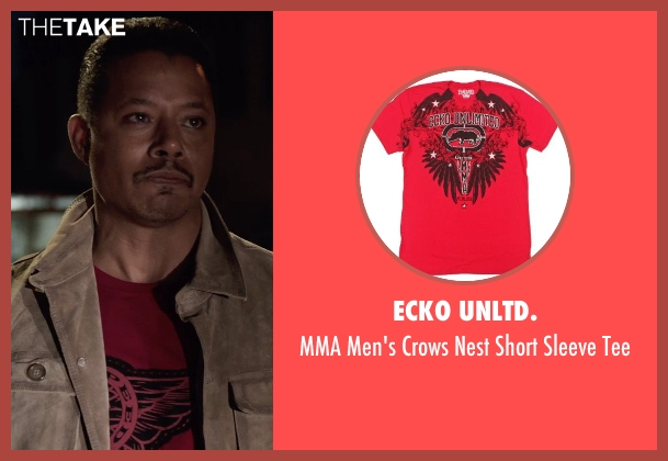ecko unltd. red tee from Sabotage seen with Terrence Howard  (Julius 'Sugar' Edmonds)