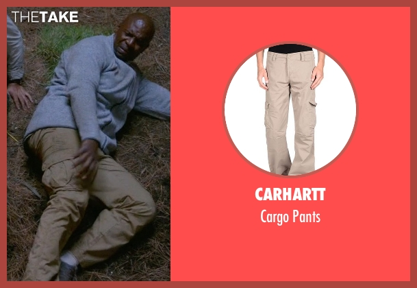 Carhartt beige pants from Brooklyn Nine-Nine seen with Terry Jeffords  (Terry Crews)