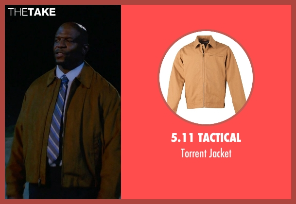 5.11 Tactical brown jacket from Brooklyn Nine-Nine seen with Terry Jeffords  (Terry Crews)