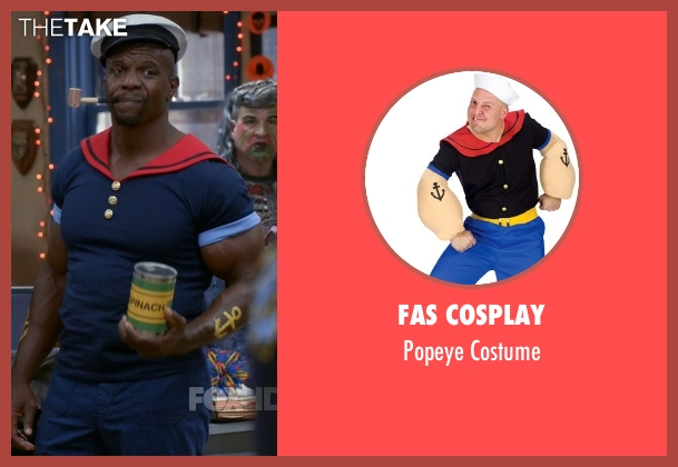 Fas Cosplay costume from Brooklyn Nine-Nine seen with Terry Jeffords  (Terry Crews)