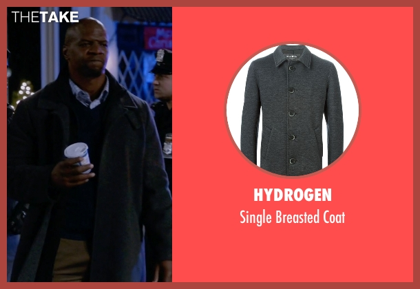 Hydrogen gray coat from Brooklyn Nine-Nine seen with Terry Jeffords  (Terry Crews)