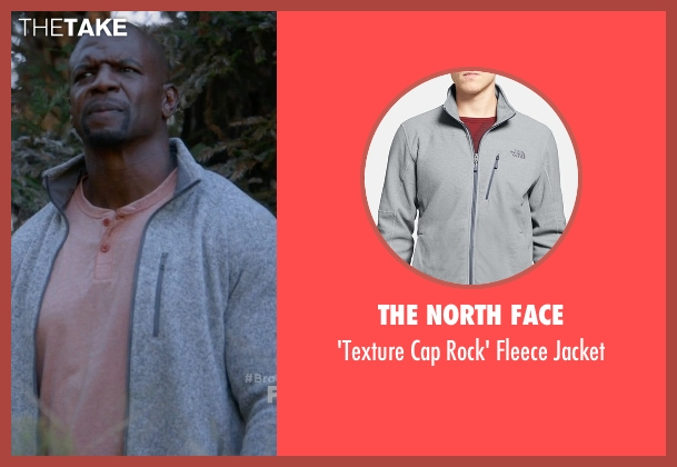 The North Face gray jacket from Brooklyn Nine-Nine seen with Terry Jeffords  (Terry Crews)