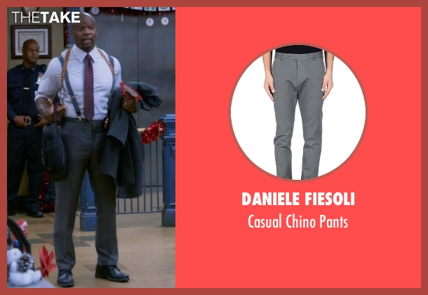 Daniele Fiesoli gray pants from Brooklyn Nine-Nine seen with Terry Jeffords  (Terry Crews)
