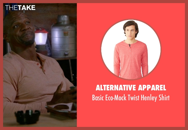 Alternative Apparel red shirt from Brooklyn Nine-Nine seen with Terry Jeffords  (Terry Crews)