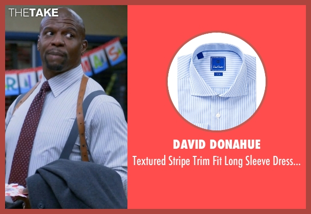 David Donahue white shirt from Brooklyn Nine-Nine seen with Terry Jeffords  (Terry Crews)