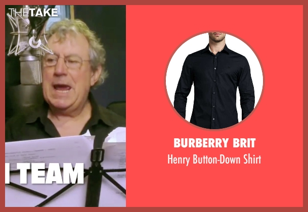 Burberry Brit black shirt from Absolutely Anything seen with Terry Jones (Extraterrestrial (voice))