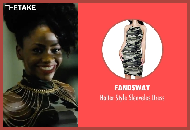 Fandsway dress from Chi-Raq seen with Teyonah Parris (Lysistrata)