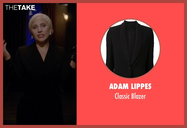 Adam Lippes black blazer from American Horror Story seen with The Countess (Lady Gaga)