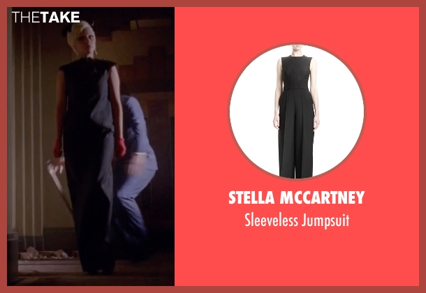 Stella McCartney black jumpsuit from American Horror Story seen with The Countess (Lady Gaga)