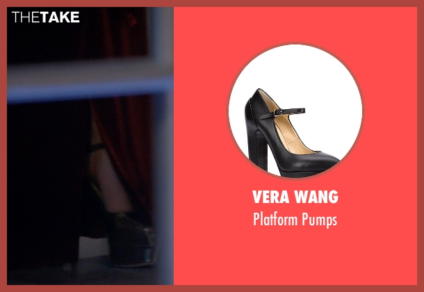 Vera Wang black pumps from American Horror Story seen with The Countess (Lady Gaga)