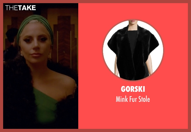 Gorski black stole from American Horror Story seen with The Countess (Lady Gaga)