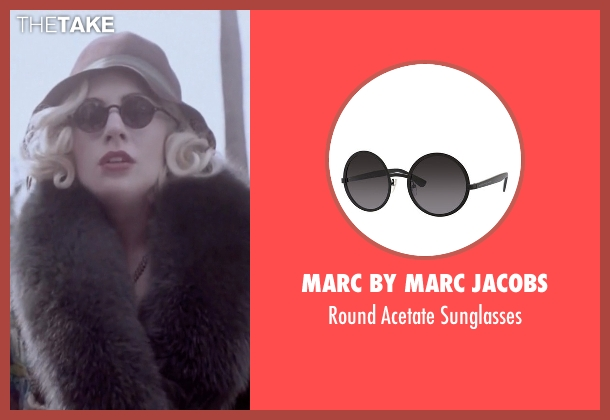 MARC by Marc Jacobs black sunglasses from American Horror Story seen with The Countess (Lady Gaga)