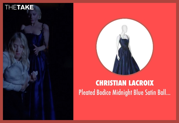 Christian Lacroix blue gown from American Horror Story seen with The Countess (Lady Gaga)