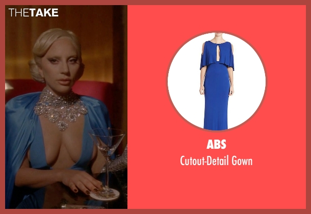 ABS blue gown from American Horror Story seen with The Countess (Lady Gaga)