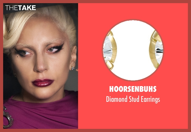 Hoorsenbuhs gold earrings from American Horror Story seen with The Countess (Lady Gaga)