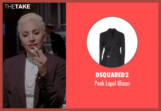 Dsquared2 gray blazer from American Horror Story seen with The Countess (Lady Gaga)