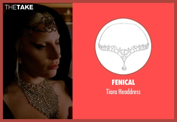 Fenical headdress from American Horror Story seen with The Countess (Lady Gaga)