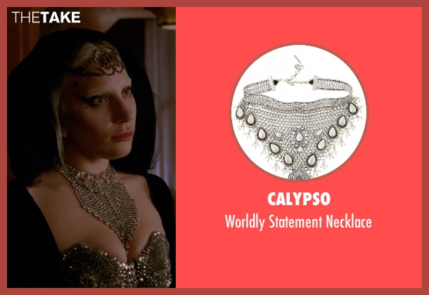 Calypso necklace from American Horror Story seen with The Countess (Lady Gaga)