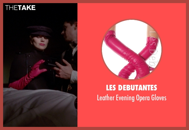 Les Debutantes pink gloves from American Horror Story seen with The Countess (Lady Gaga)