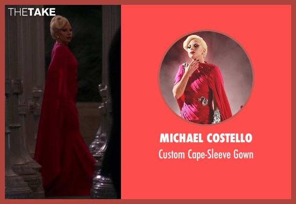 Michael Costello pink gown from American Horror Story seen with The Countess (Lady Gaga)