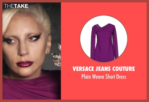 Versace Jeans Couture purple dress from American Horror Story seen with The Countess (Lady Gaga)