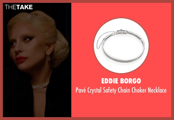 Eddie Borgo silver necklace from American Horror Story seen with The Countess (Lady Gaga)