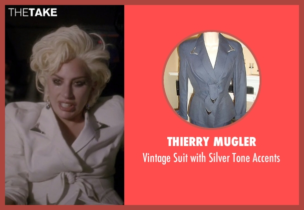 Thierry Mugler white accents from American Horror Story seen with The Countess (Lady Gaga)