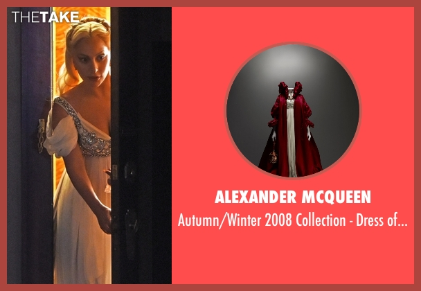 Alexander McQueen white beads from American Horror Story seen with The Countess (Lady Gaga)