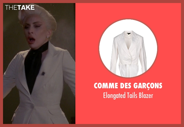 Comme Des Garçons white blazer from American Horror Story seen with The Countess (Lady Gaga)