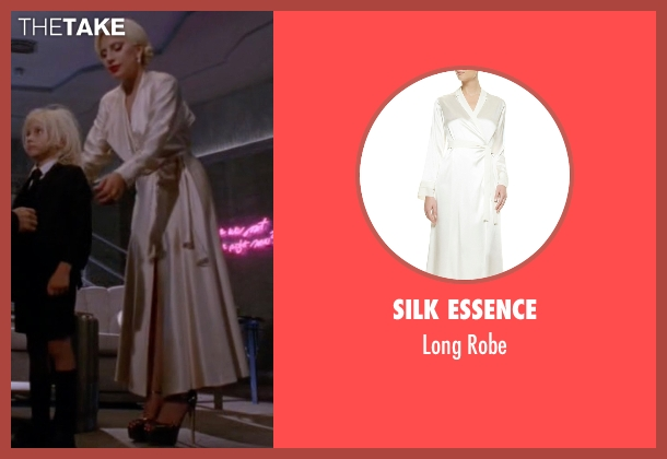 Silk Essence white robe from American Horror Story seen with The Countess (Lady Gaga)