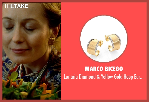 Marco Bicego gold earrings from The Hundred-Foot Journey