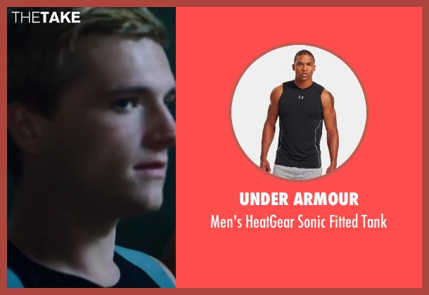 Under Armour black tank from The Hunger Games: Catching Fire